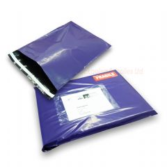 Purple Mailing Bags